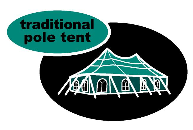 Traditional - Pole tents