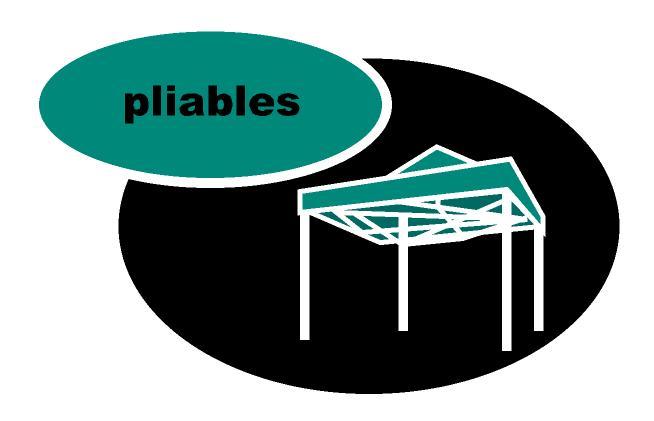 Structures pliables